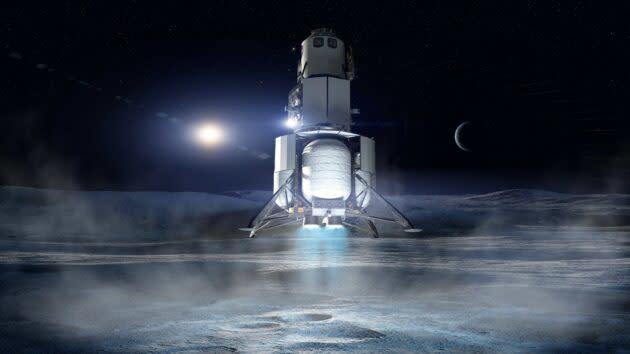 National Team lunar lander