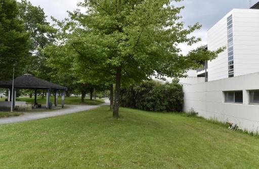 The site where a 32-year old man was beaten to death in broad daylight by a gang of teenagers in the Saragosse neighbourhood of Pau, a town in southwestern France