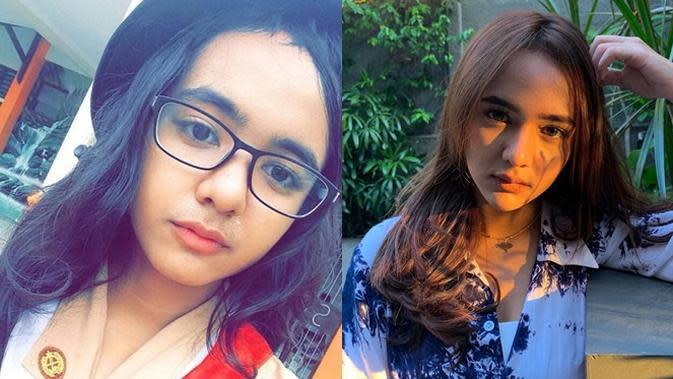 6 Foto Lawas Artis saat Pakai Seragam Pramuka Sekolah, Curi Perhatian (sumber: Instagram.com/sabrindh dan ask.fm/edwarmms)
