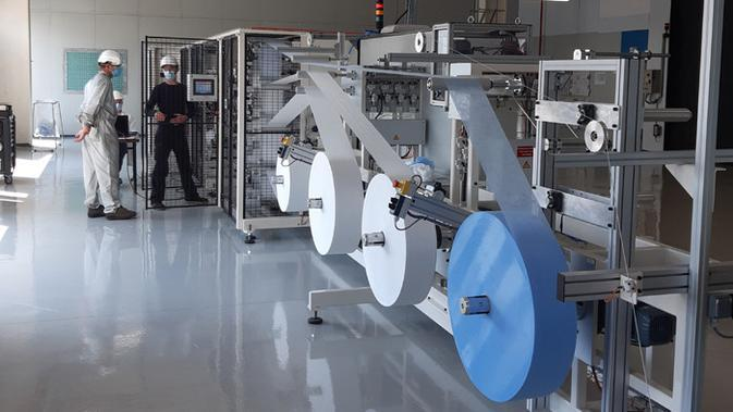 Lawan Corona, Grup Peugeot Mulai Produksi Masker Bedah