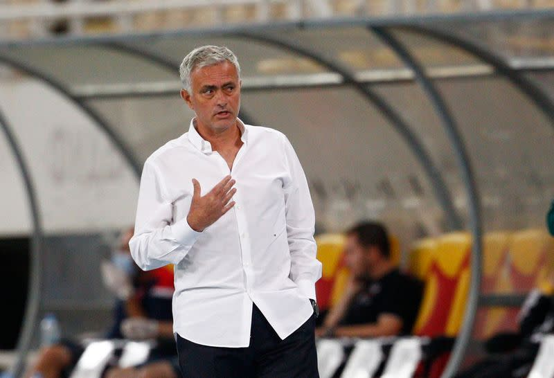Mourinho moves the goalposts before Europa League tie
