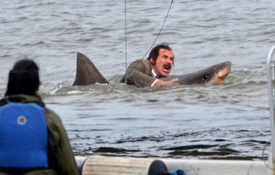 Spotted on Set: Anchorman 2