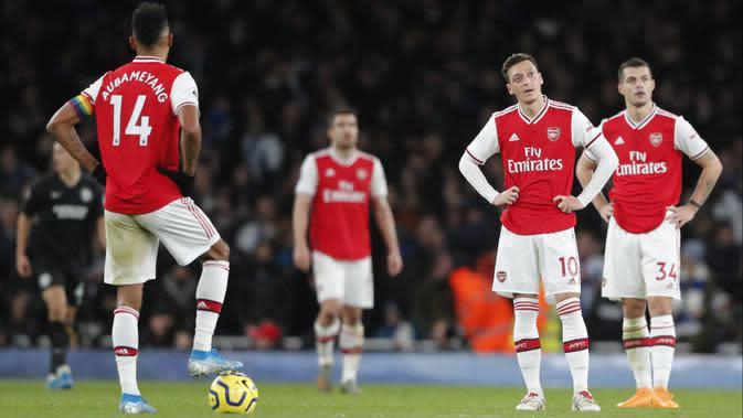 Dramatis, Brighton Permalukan Arsenal 2-1