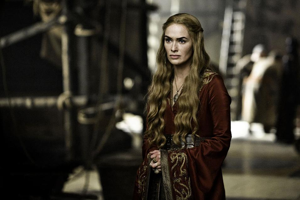 "Lena Headey as Cersei Lannister in ""Game of Thrones."""