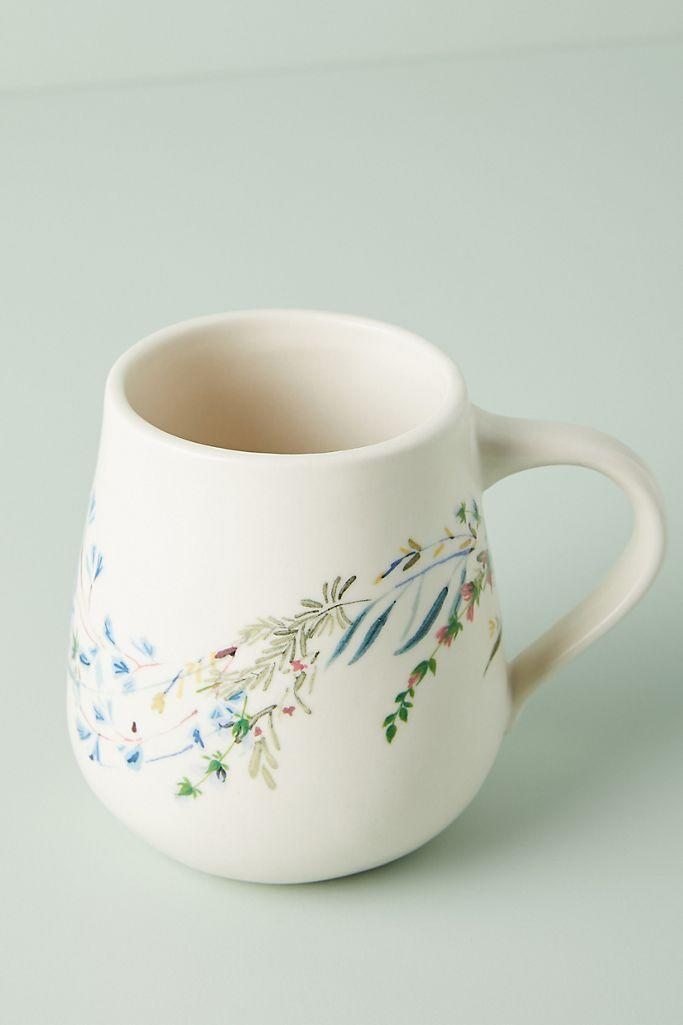 Printemps Mugs, Set of 4. Image via Anthropologie.