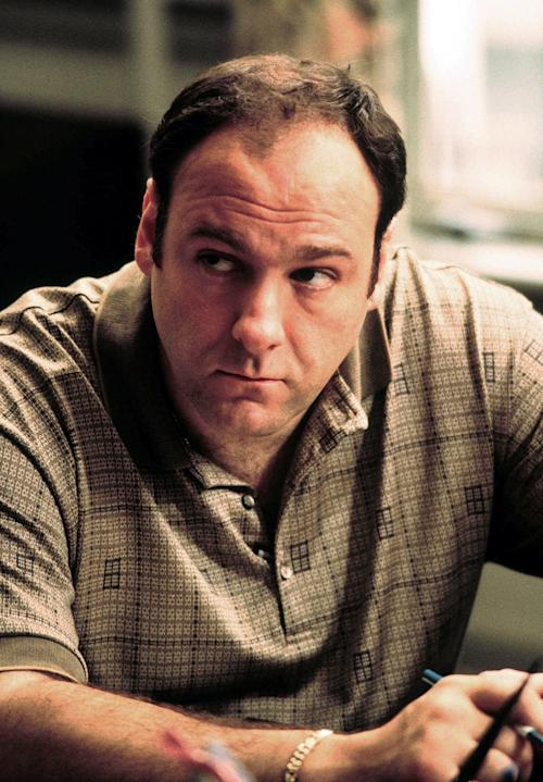 "FILE - This 1999 file photo released by HBO shows actor James Gandolfini as Tony Soprano in the critically acclaimed HBO series ""The Sopranos."" HBO and the managers for Gandolfini say the actor died Wednesday, June 19, 2013, in Italy. He was 51. (AP Photo/HBO, Anthony Nesta, file)"