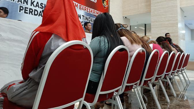 para pekerja seks dalam praktik porstitusi di Puncak, Bogor, Jawa Barat. (Liputan6.com/Ady Anugrahadi)