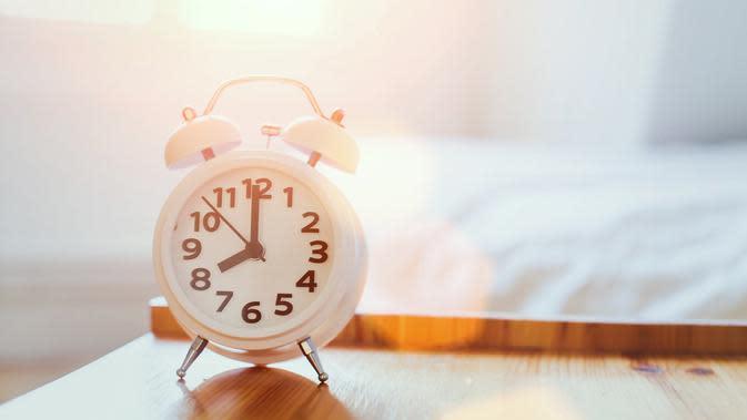 Ilustrasi waktu tidur. (iStockphoto)