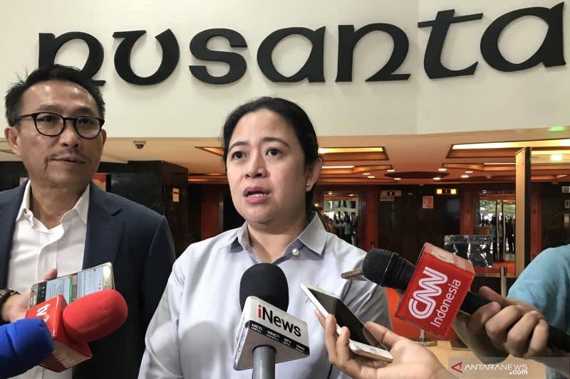 Puan tegaskan DPR belum terima draf RUU Cipta Lapangan Kerja