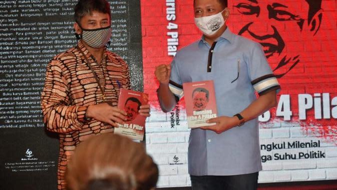 Bamsoet Rilis Buku 'Jurus 4 Pilar' dan 'Solusi Jalan Tengah' (Foto:MPR)
