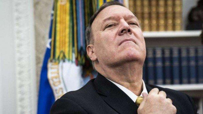 VIVA Militer: Menteri Luar Negeri Amerika Serikat (AS), Mike Pompeo
