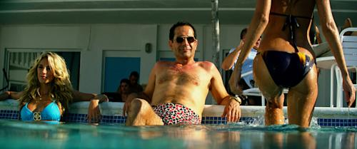 "This film image released by Paramount Pictures shows Tony Shalhoub in a scene from ""Pain and Gain."" (AP Photo/Paramount Pictures)"