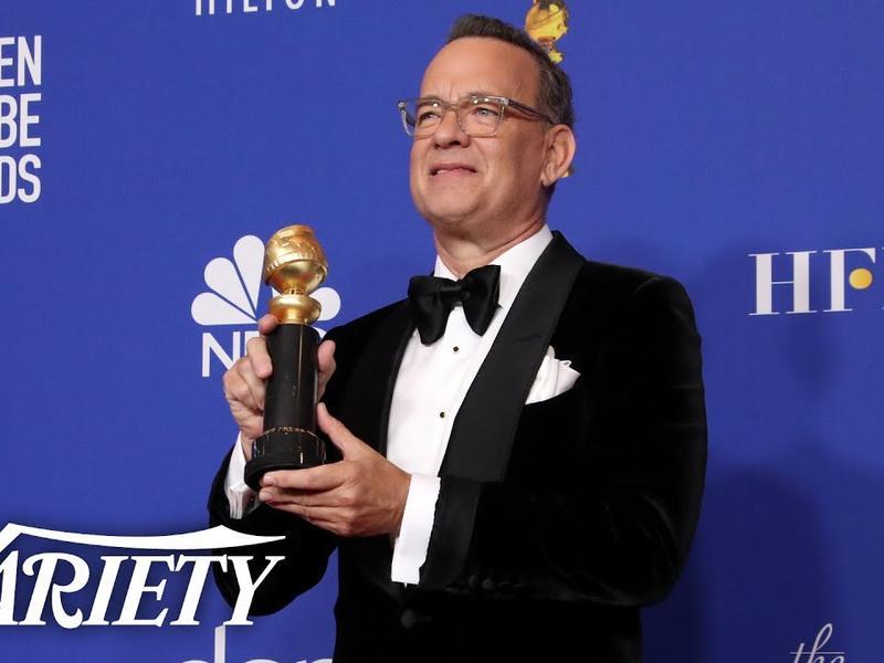 電影類終身成就獎:湯姆漢克斯