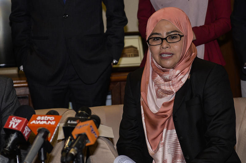 Datuk Noraini Ahmad said a maximum of 250 persons are allowed for activities involving university students. — Picture by Miera Zulyana