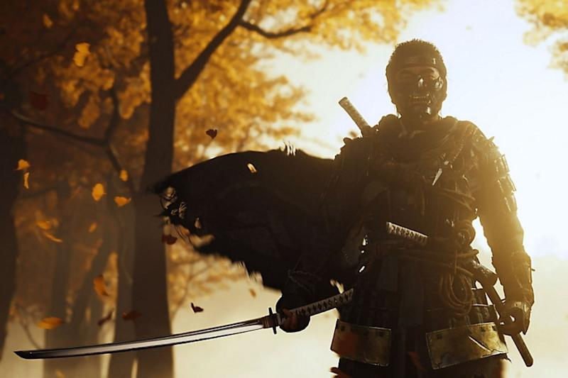 Ghost of Tsushima's in-game stats illustrate its wild popularity