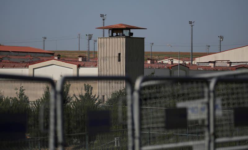 FILE PHOTO: Silivri Prison complex is pictured in Silivri near Istanbul