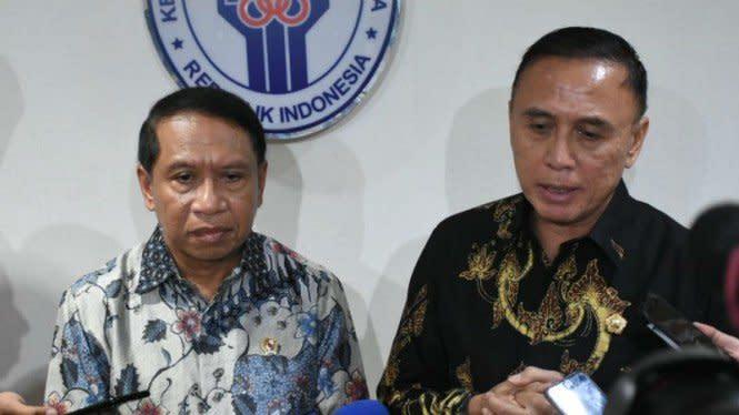 Ketum PSSI jadi Manajer Timnas Indonesia, Menpora Beri Tanggapan