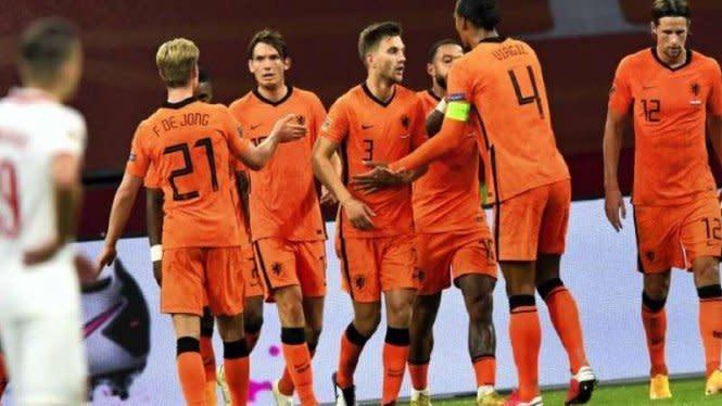Jadwal Siaran Langsung UEFA Nations League, Belanda Tantang Italia