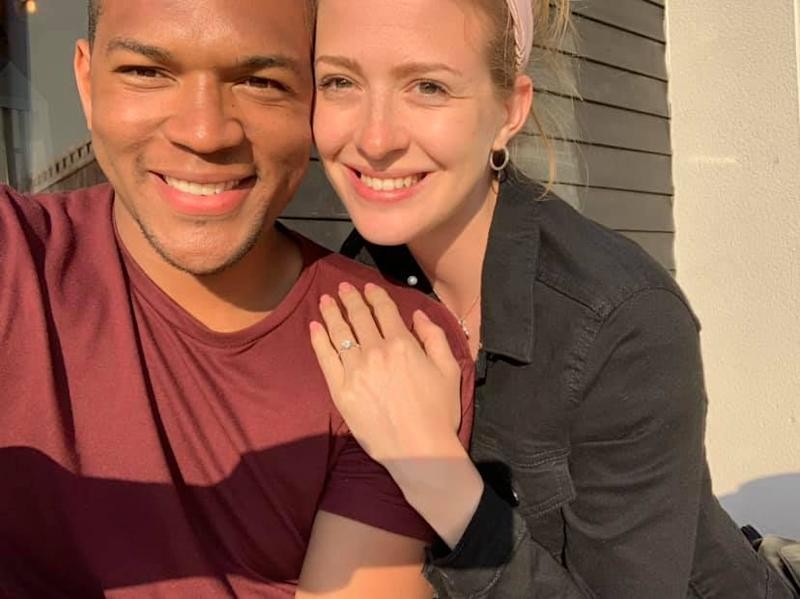 Edi and Cally did eventually get engaged