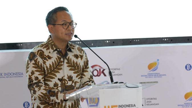 Direktur Utama Bank Mandiri Kartika Wirjoatmodjo. Dok Humas BUMN