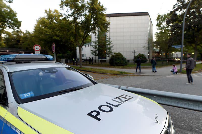 German police arrest suspect after assault near synagogue in Hamburg