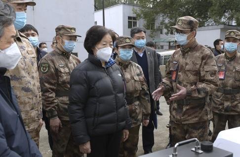 Vice-Premier Sun Chunlan is in charge of the battle against coronavirus in Hubei. Photo: Xinhua