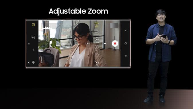 Galaxy Note 20 hadir dengan mode perekaman Pro Video yang digunakan untuk merekam film pendek oleh Sutradara Yandy Laurens (Foto: Samsung Indonesia)