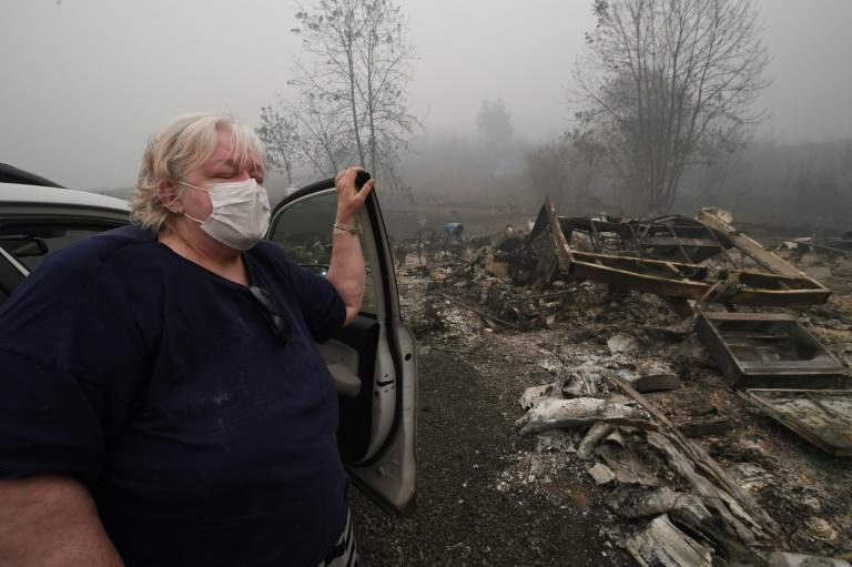 Fires, fear and guns on America's wild West Coast
