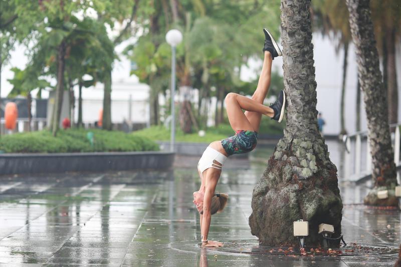 Singapore #Fitspo of the Week: Giulia Bossi (PHOTO: Cheryl Tay)