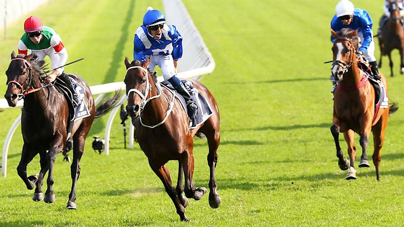Winx wins her 33rd consecutive race. More