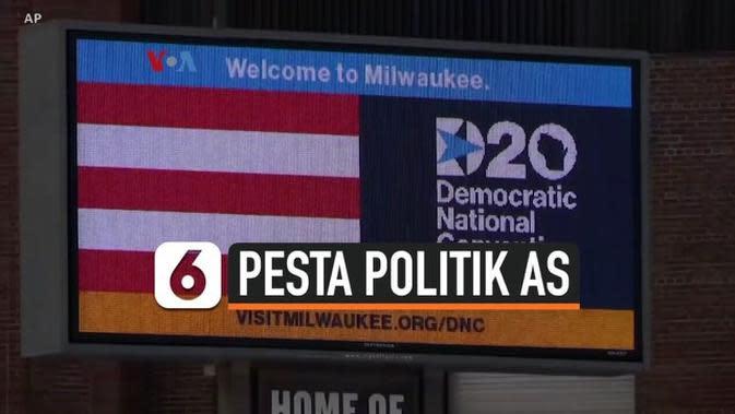 VIDEO: Gelar Konvensi Virtual, Bisakah Partai Politik AS Jangkau Calon Pemilih?