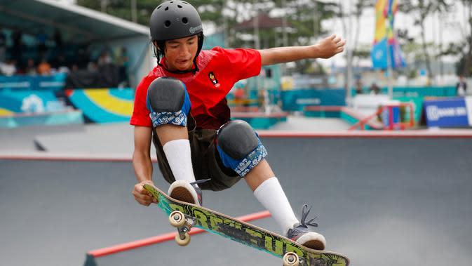 Timnas Skateboard Indonesia Mewaspadai Filipina di SEA Games 2019