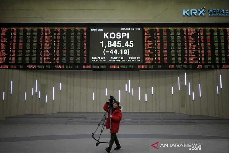 Bursa saham Seoul berakhir menguat 0,31 persen
