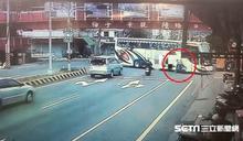 遊覽車未禮讓 17歲少女撞進前輪裡