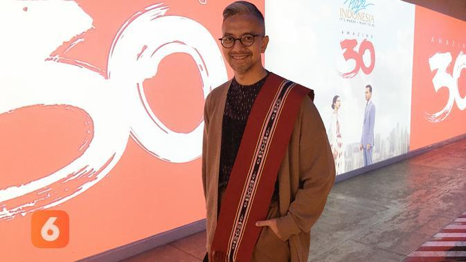 Desainer dan Creative Director IKAT Indonesia, Didiet Maulana. (Liputan6.com/Putu Elmira)