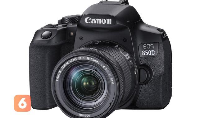 Canon melalui distributornya, PT Datascrip, mulai jual kamera semi profesional untuk fotografer dan videografer pemula, Canon EOS 850D (Foto: Datascrip)