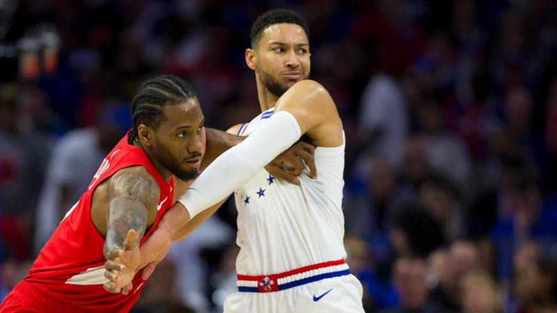 76ers look to contain Leonard in Game 5 vs. Raptors