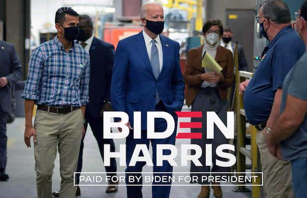 Biden Campaign Temporarily Halts Negative Ads Following Trump's COVID-19 Diagnosis