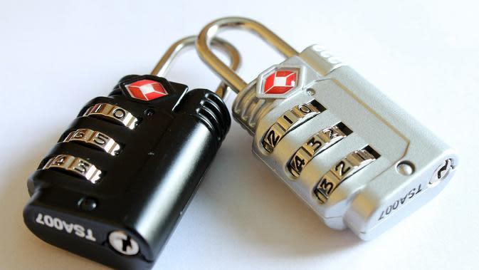 Ilustrasi security, keamanan siber, kata sandi, password