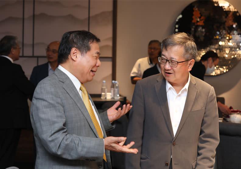 台旭環境科技中心董事長、裕隆集團執行長特別顧問黃日燦。蘇義傑攝