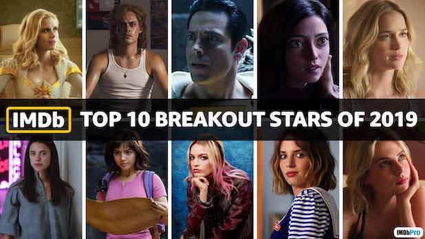 Top Breakout Stars 2019 IMDB