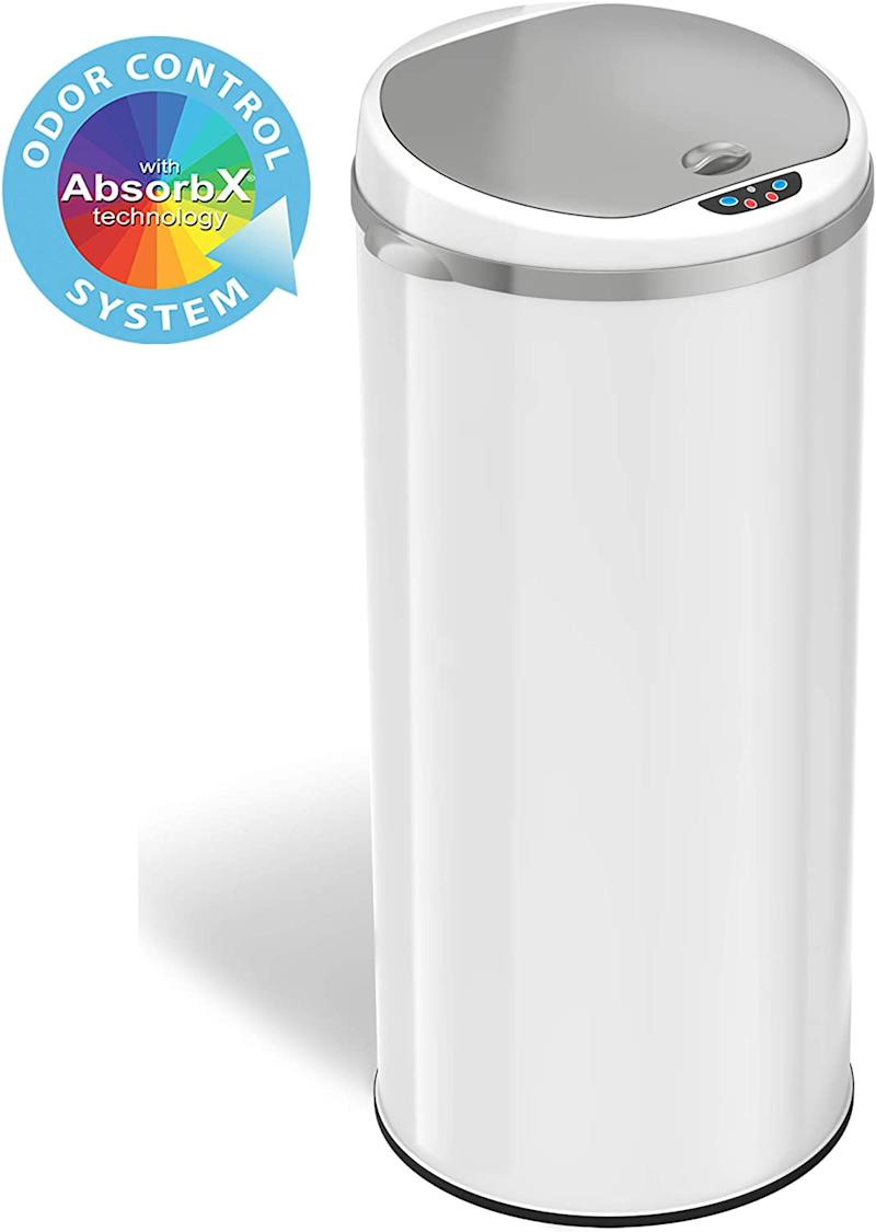 iTouchless Automatic Trash Can (Photo via Amazon)