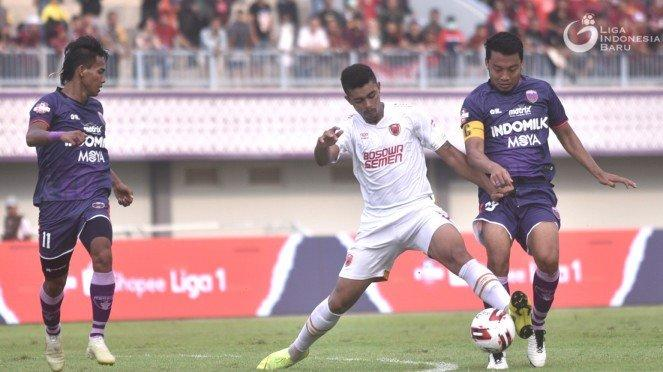 Laga Liga 1, Persita Tangerang vs PSM Makassar
