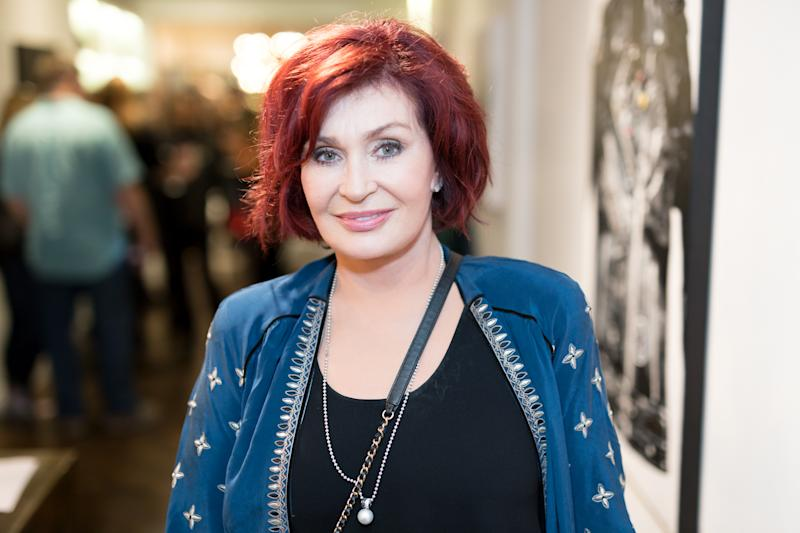 Sharon Osbourne attends the Billy Morrison - Aude Somnia Solo Exhibition at Elisabeth Weinstock on September 28, 2017 in Los Angeles, California. (Photo by Greg Doherty/Getty Images)