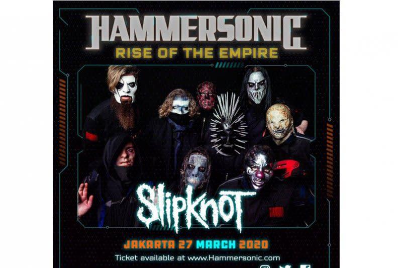 Slipknot tampil di Hammersonic 2020