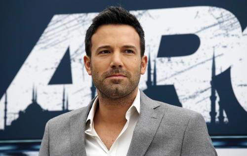 "FILE - This Oct. 19, 2012 file photo shows actor-director Ben Affleck posing for photographers during a photocall to present his movie ""Argo"" in Rome. The film was nominated for an Academy Award for best picture on Thursday, Jan. 10, 2013. Alan Arkin was nominated for best supporting actor and Chris Terrio for best adapted screenplay, but Affleck was not nominated for either best actor or best director for his work in the film. (AP Photo/Gregorio Borgia, file)"