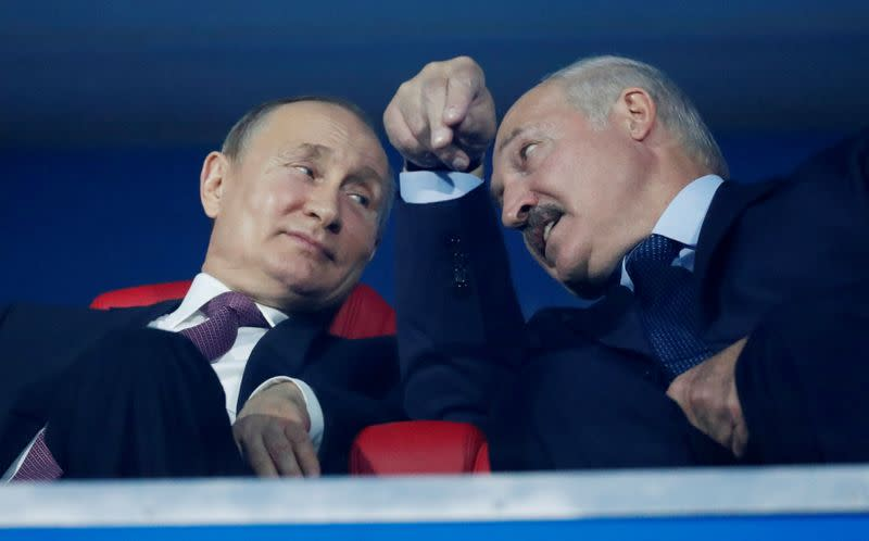Belarus crisis unsettling for Putin at home as opponents take heart