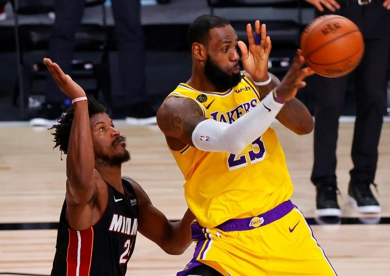 Lakers' James relishes NBA Finals 'chess match'