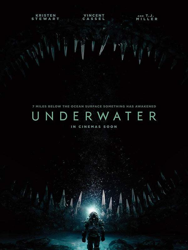 Poster film Underwater. (Foto: Dok. IMDb/ Chernin Entertainment)