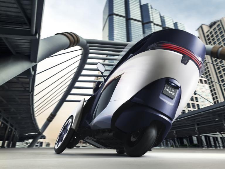 Toytoa i-ROAD Concept